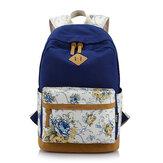 Fille floral sac à dos loisirs sac à dos étudiantes sac à dos cartables adolescent