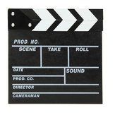Director Video Scene Movie Clapperboard TV Movie Slate Film Cut Prop