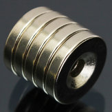 5pcs N50 15x3mm Countersunk Ring Magnets 4mm Hole Rare Earth Neodymium Magnets
