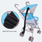 Csecsemő baba összecsukható babakocsi babakocsi szállítószíj állítható biztonsági biztonsági öv