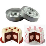 Heart Shape Layer Cake Pan Mold Aluminum Cake Pans