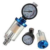 Британский стандарт пистолет пневматический регулятор и Мини воздуха фильтр масляный сепаратор воды