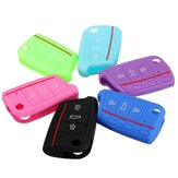 Silicone Arabesquitic Protection Car Key Cover Case For 2014-2015 VW Golf MK7