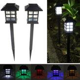 2adet Bahçe Solar Oriental LED Lamba Outdoor Yard Çim Dekoratif Işık