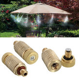 3/16 Inch Garden Irrigation Brass Misting Spray Nozzle Cooling Humidification Lawn Sprinkler