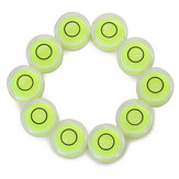 10pcs Circular Bubble Spirit Level Set For Professional Measuring Normal Use