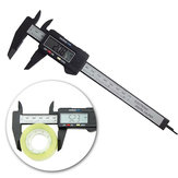 DANIU 6inch 150mm Electronic Digital Caliper Ruler Carbon Fiber Composite Vernier