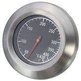 Stainless Steel Thermometer Barbecue BBQ Smoker Grill Temperature Gauge 60-430℃
