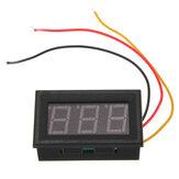Mini voltmetro digitale rosso LED 0V metro quadro dc a 99.9v
