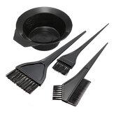 Couleur de cheveux Kit de peigne de brosses de bol de teinture Ensemble de coloration de teinte