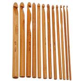 12 Bambu Saplı Kroşe İğne Seti