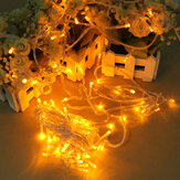 100 LED 10m Yellow String Decoration Light Untuk Natal 110V 220V