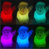 Farbe verändert Weihnachtsmann Klein LED Nachttischlampe