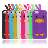 Colorful Cute Lovely Chick Shaped Soft Silicone Case For iPhone 5
