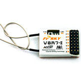 FrSky V8R7-II 2.4G 8CH Receiver for RC Multi Rotor FPV Racing Drone