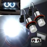 2x ángel coche luces ojo LED de halo BMW E39 E53 lámparas 5 w