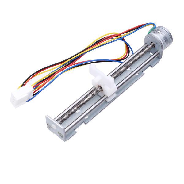 dc 4-9v drive stepper motor screw with nut slider 2 phase 4 wire sale -  banggood com