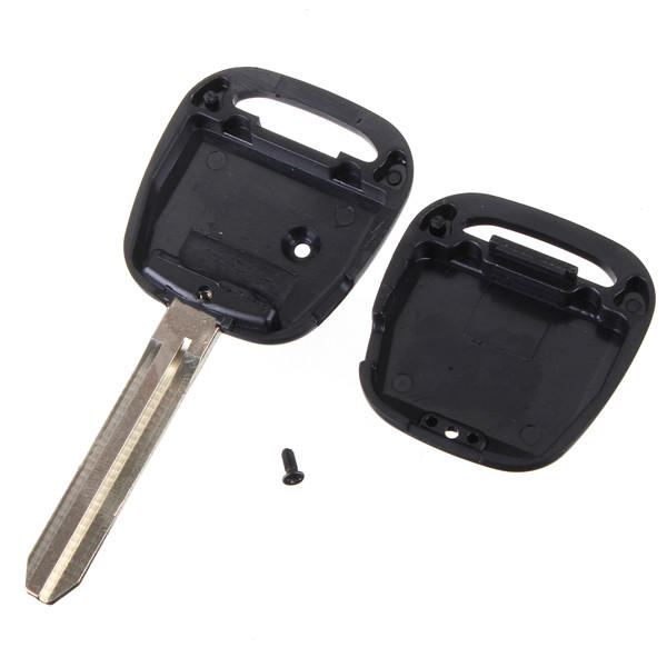 3 Buttons Remote Key Shell for Toyota Remote Case Fob Replacement 2+1 Button