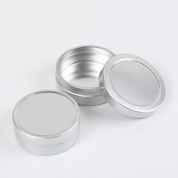 Refillable Bottles Tomma Kosmetiska Pot Pot Tin Container 10ml / 20ml