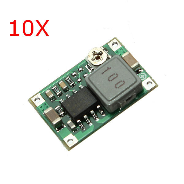 10Pcs Mini DC Adjustable Power Supply Buck Module Step Down Module