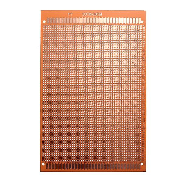 112 x 18cm PCB Prototyping Printed Circuit Board Breadboard, Banggood  - buy with discount