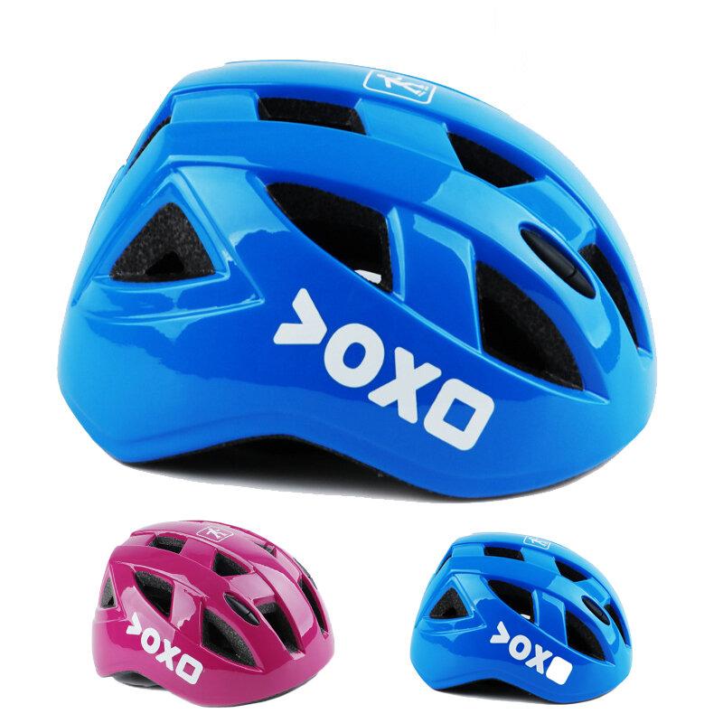 FEIYU Adjustable Kids Cycling Bicycle Helmets Cartoon Safety Skating MTB Mountain Road Bike Helmet For 3-12 Years Old Ki