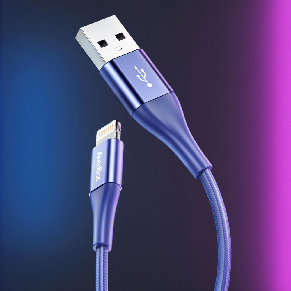 ROCK 2.4A MFI Certificated Fast Charging Data Cable For iPhone X XS Max iPad Pro iPod