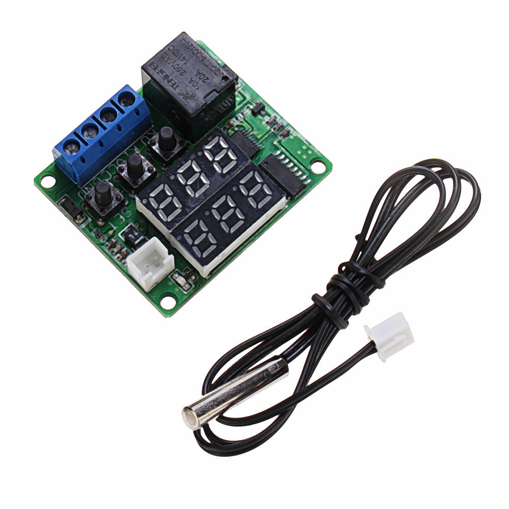 Geekcreit® W1209S DC 12V Mini Thermostat Regulator -50 to 120℃ Digital Temperature Controller Module with Display