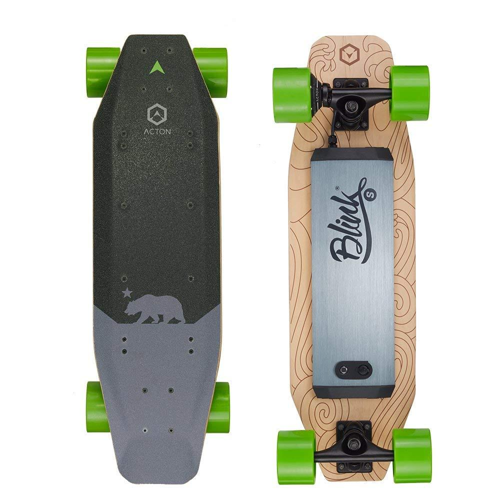 Cheap Electric Skateboard >> Acton Blink S 500w Electric Skateboard Intelligent Remote Control Load 100kg With Led Light From Xiaomi Youpin