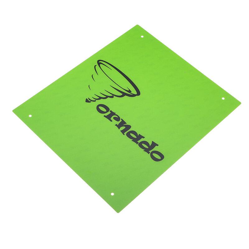 TEVO Yeşil Renk 370 * 310mm PC Film Isıtmalı Yatak Sticker 3D Printerr için