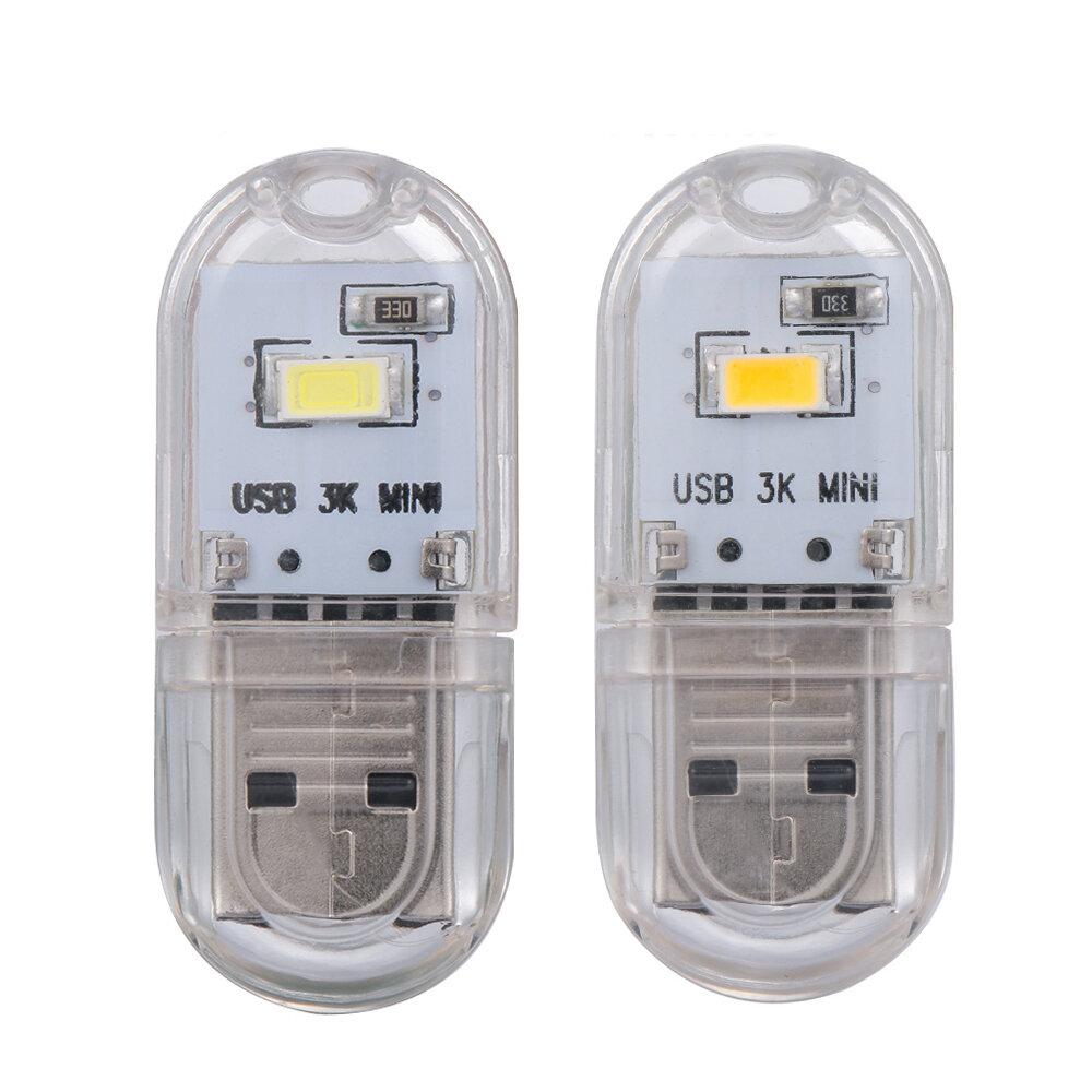 Portable Mini USB LED Rigid Strip Night Light Reading Camping Lamp for Notebook Power Bank DC5V