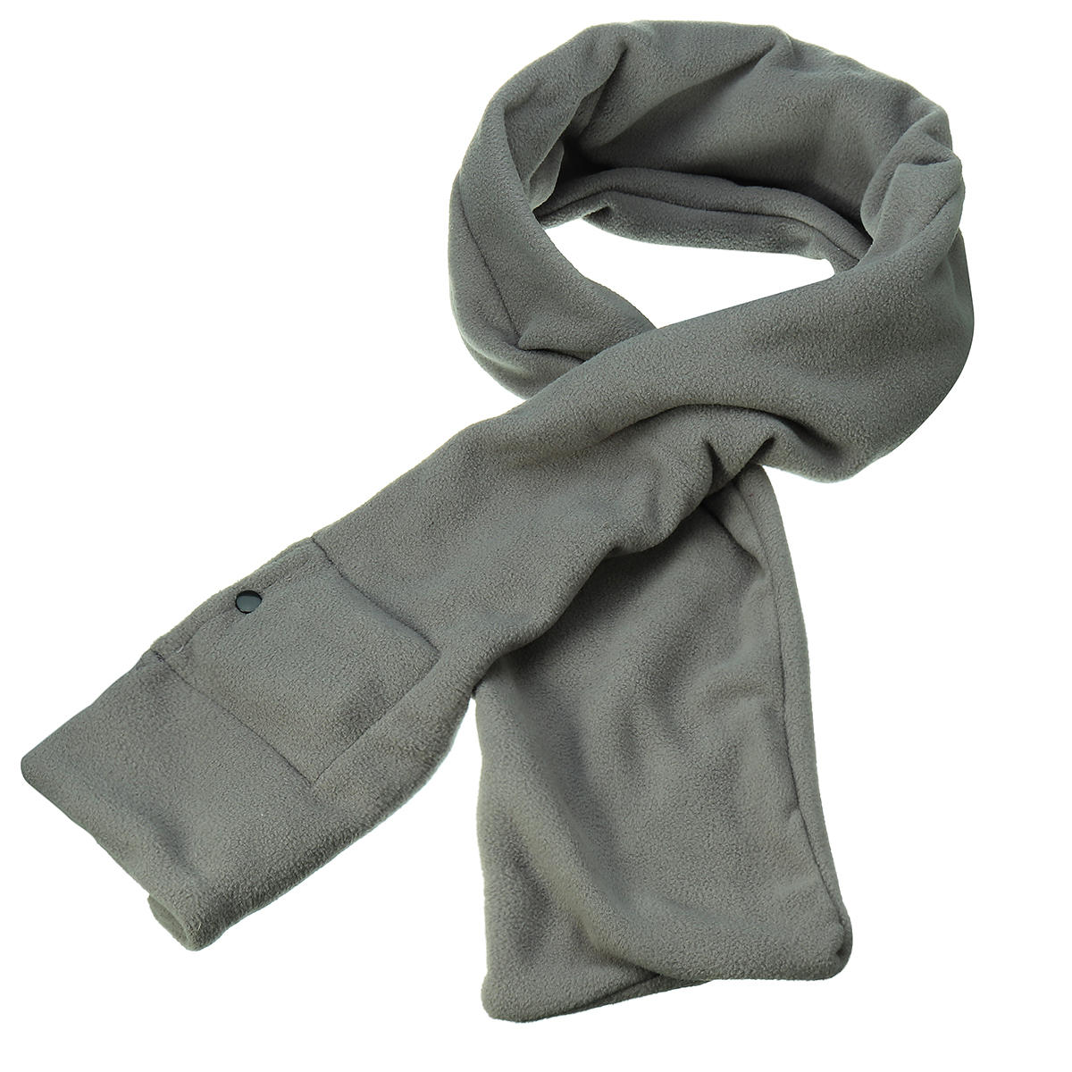USB Electric Plush Heated Scarf Winter Warming Shawl Men Women Rechargeable Wrap 165cm
