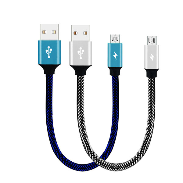 Bakeey 3A Micro USB Braided Fast Charging Data Cable 28cm For Xiaomi Redmi Note 5 S7 Edge S6