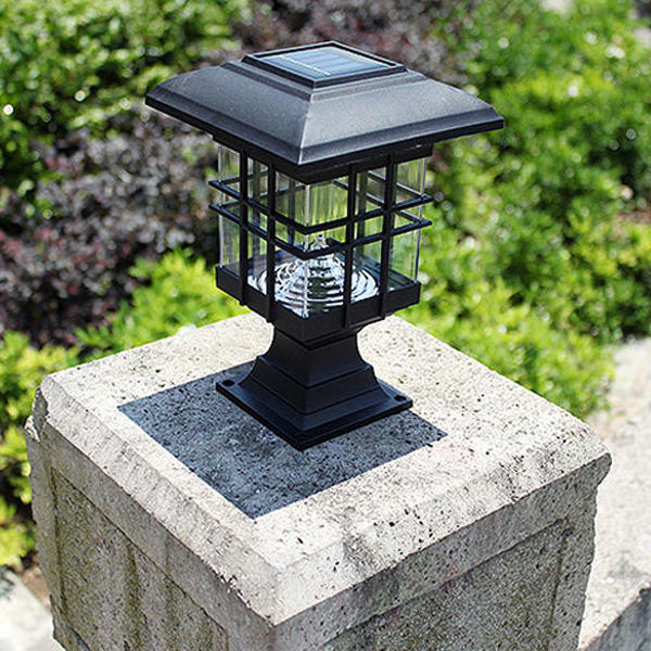 Solar Power 3 White LED Waterproof Light Garden Lawn Landscape Decoration Lamp