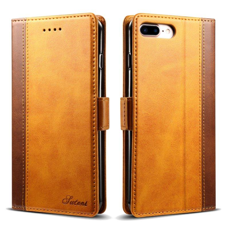 """Bakeey Hybrid Color Wallet Card Sots Kickstand Case For iPhone 7 Plus/8 Plus 5.5 """""""