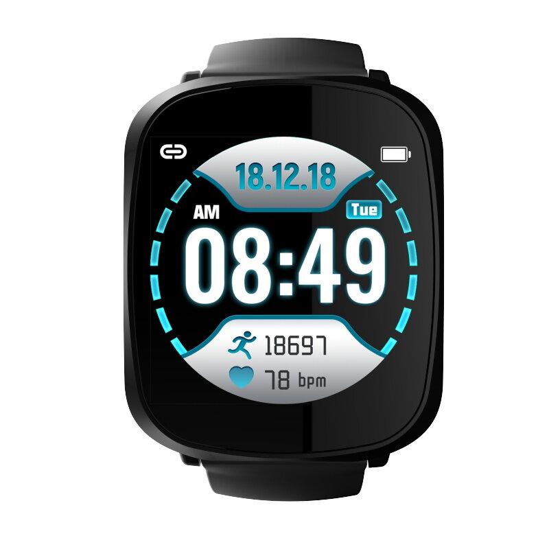 Bakeey A8 큰 스크린 컬러 스크린 똑똑한 시계 Real 시간 혈압과 산소 모니터 긴 대기 소맷동