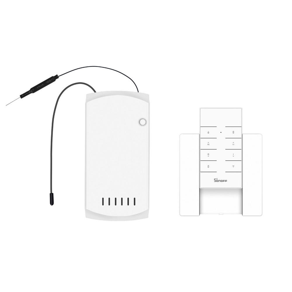 SONOFF IFan03 AC100-240V 50/60Hz WiFi Ceiling Fan And Light Controller with RM433 RF Remote Controller and Base Works with Amazon Alexa Google Home Assistant Nest