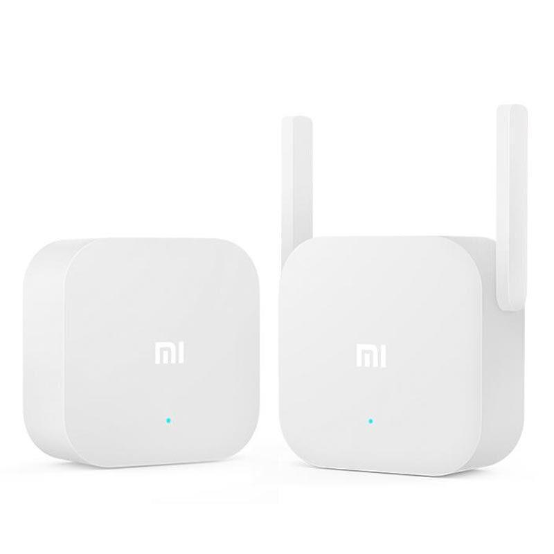 Original Xiaomi 2.4 Ghz 300 Mbps Dual Antena Adaptador Ethernet PowerLine Sem Fio Homeplug