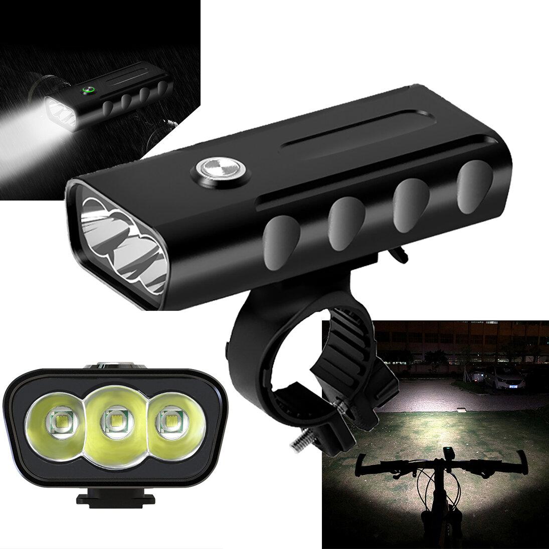 XANES XL29 Light 18650mAh Батарея USB мотоцикл E-bike Bike Велосипедный фонарик