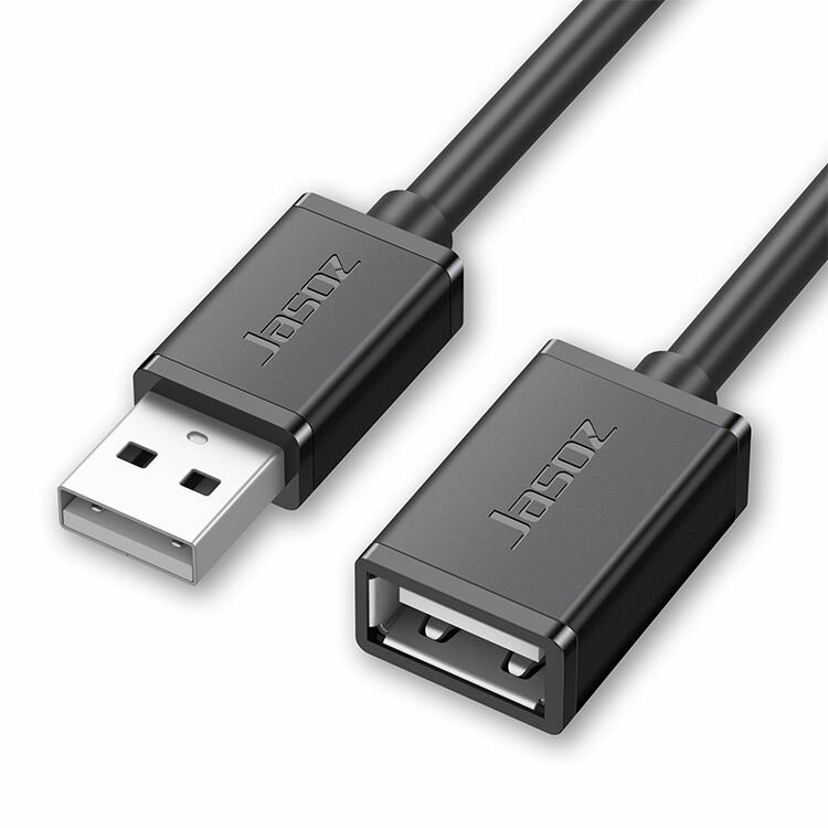 Jasoz USB to USB Extension Cable Male to Female USB2.0 Cable Cord For Computer USB Port Cable Extender