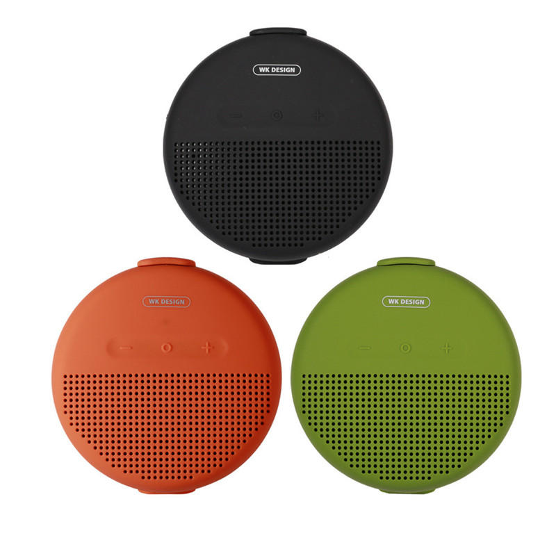 WK SP150 Portable Wireless bluetooth TWS Speaker IPX7 Waterproof Stereo Surround Sound Outdoor Handsfree Headset With Mic