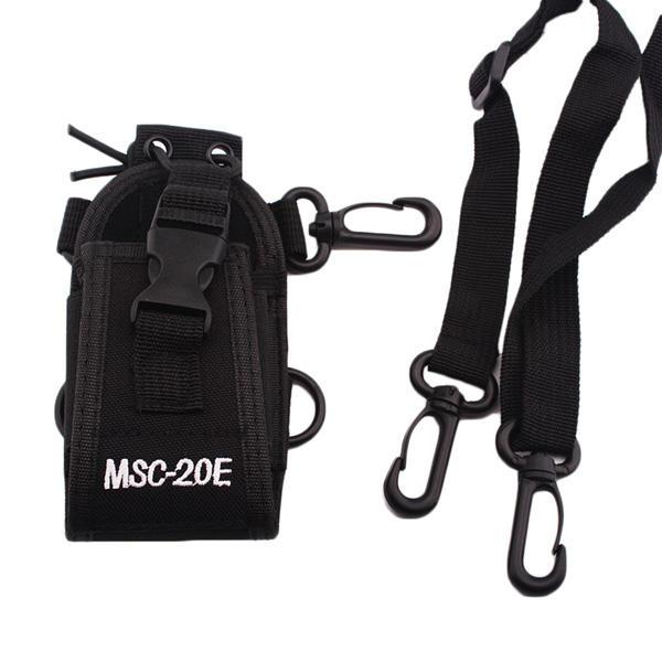 Baofeng MSC20E Portable Walkie Talkie Nylon Case Cover Handsfree Holder For Walkie Talkie Intercom