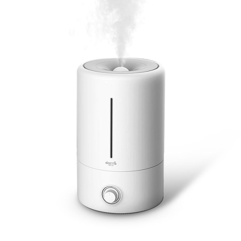 Deerma DEM-F628 5L Air Humidifier Mute Ultrasonic Aroma Diffuser Household Mist Maker Fogger Purifying Humidifier Oil XIAOMI Cooperation Brand