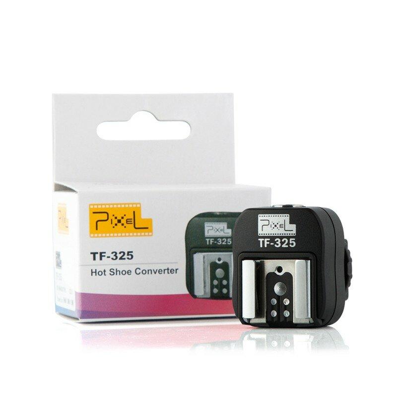 Pixel TF-325 Hot Shoe Adapter Converter to PC Sync Socket for Sony Alpha Minolta Konica