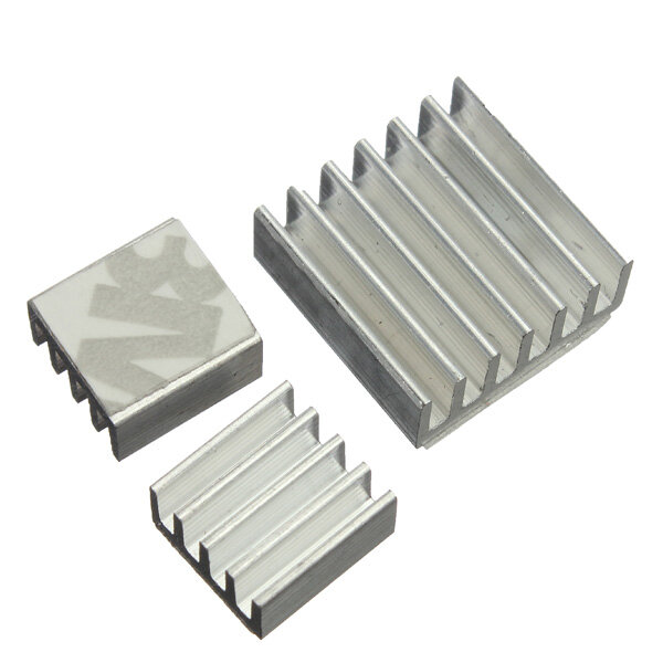 6Adhesive Aluminum Heatsink Cooler Kit For Cooling Raspberry Pi, Banggood  - buy with discount