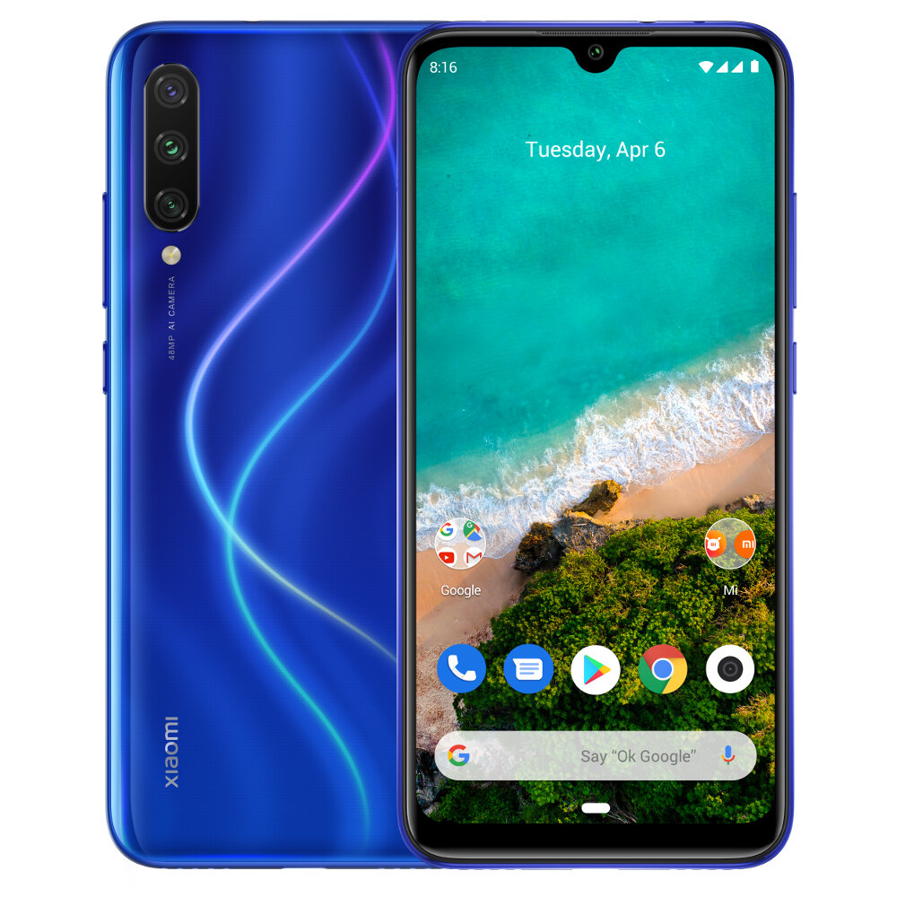 Xiaomi mi a3 global version 6.088 inch amoled 48mp triple rear camera 4gb  128gb snapdragon 665 octa core 4g smartphone Sale - Banggood.com sold  out-arrival notice-arrival notice