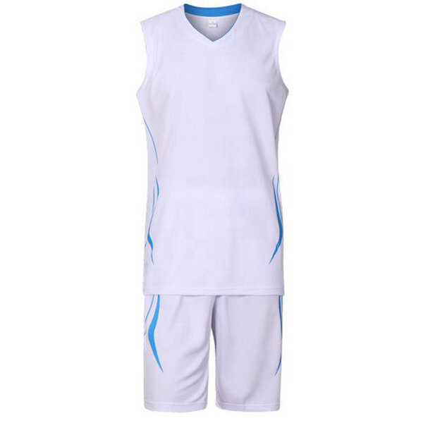 Juego de baloncesto para hombres de verano traje de deportes sin mangas transpirable de secado rápido para equipo 6 colores