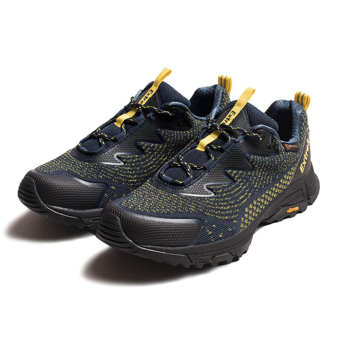 EXTREK Men Sneakers Waterproof Breathable Non-slip Hiking Shoes Sport Running Shoes
