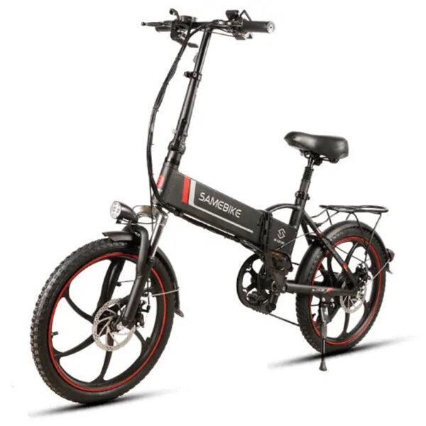 Samebike XW-20LY 350W Smart Folding Electric Bike 35km/h Max. Speed 48V 10AH E-Bike