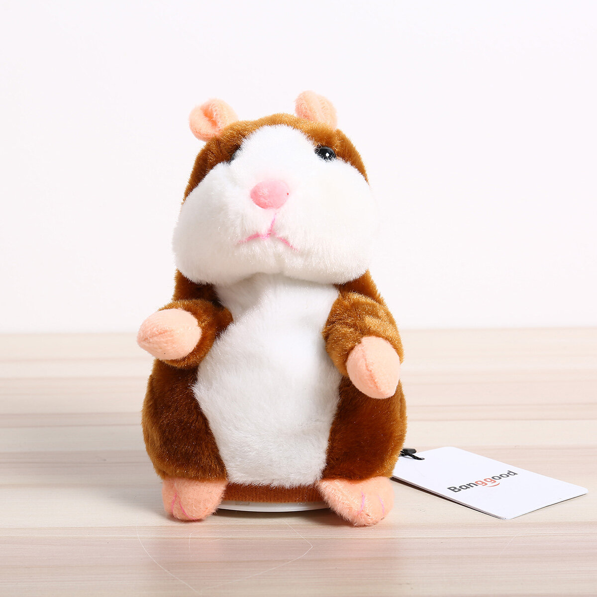 Cute Funny Speak Talking Record Hamster Mouse Plush Kids Toys AAA Battery Gifts
